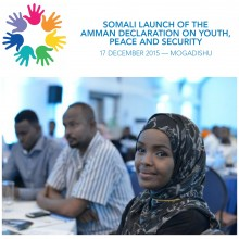 Launch of Amman Youth Declaration in Somalia