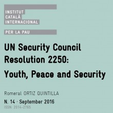 Policy Paper | UN Security Council Resolution 2250: Youth, Peace and Security