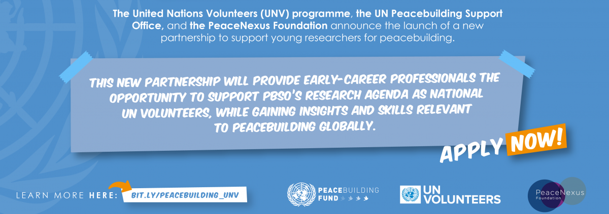 Learn more at bit.ly/peacebuilding_UNV